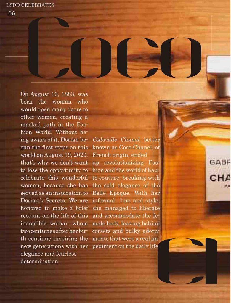 Coco Chanel LSDD Digital Magazine Dorian's Secrets
