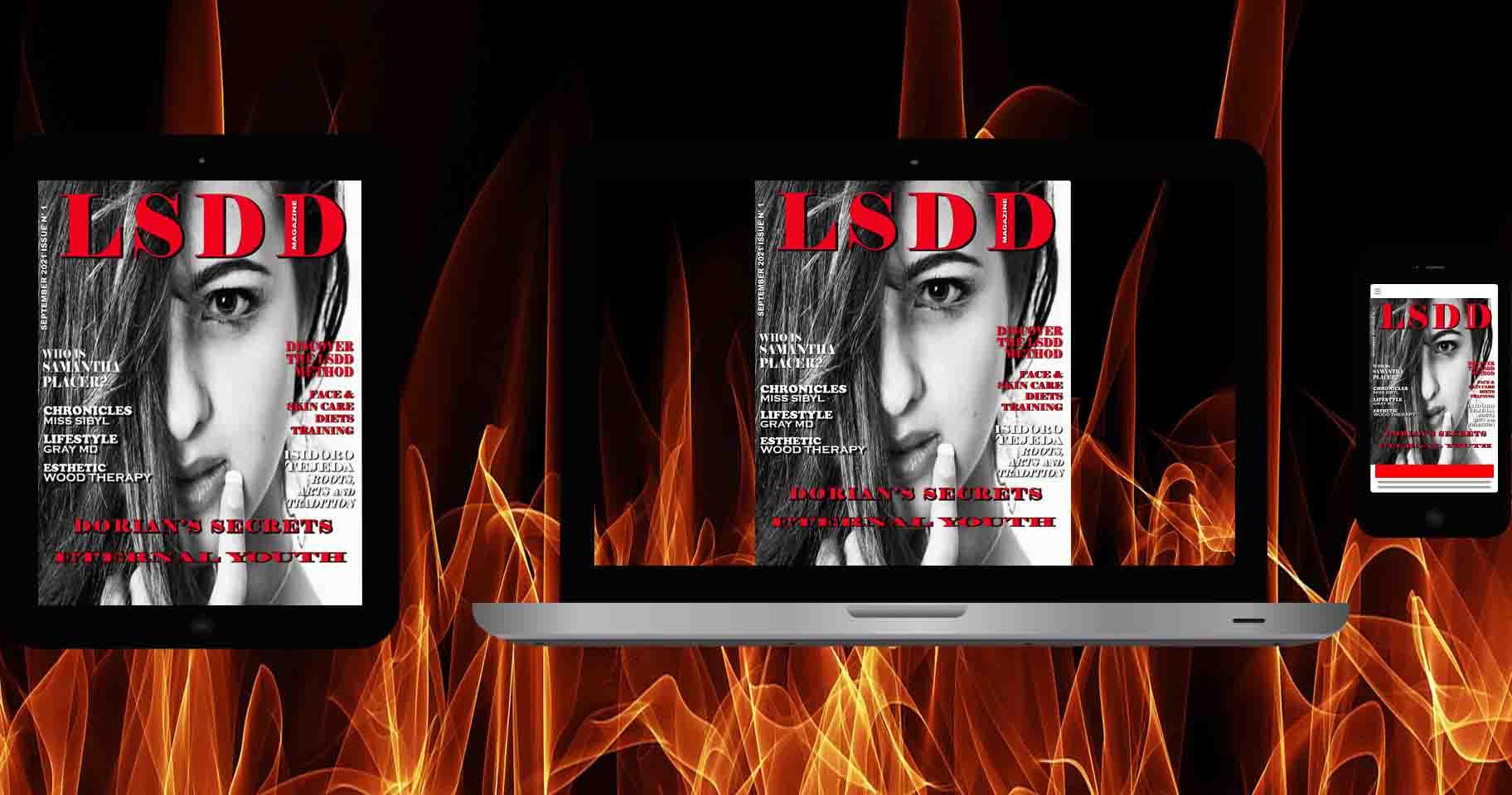 LSDD Digital Magazine Dorian's Secrets