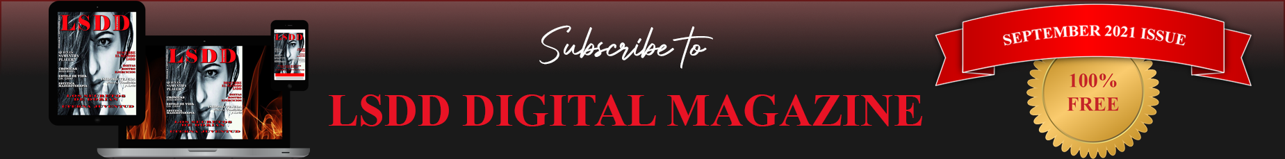 Subscribe to LSDD Magazine Dorian's Secrets