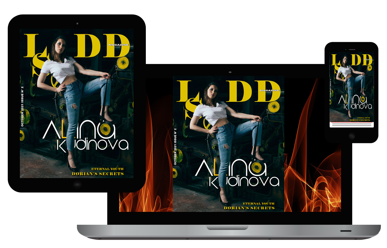 LSDD Magazine October 2021 Issue Mobile Device